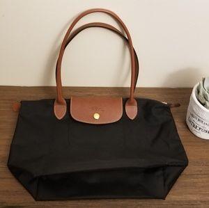 Longchamp Small Le Pliage Tote (Black)